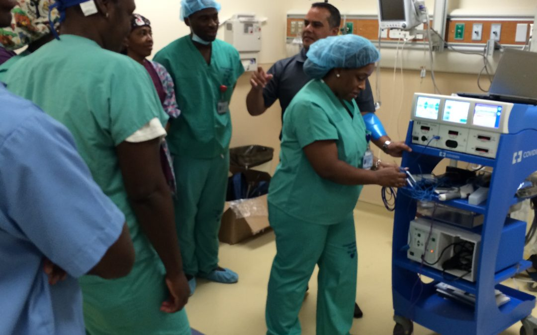 Ports International Provides Medical Equipment for New Critical Care Block