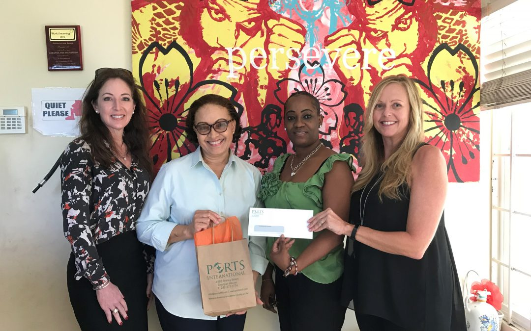 Ports Supports the Bahamas AIDS Foundation