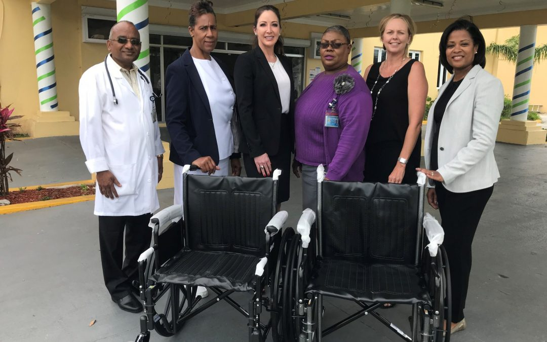 To Encourage Mobility in Seniors, Ports Donates Wheelchairs for Pushathon